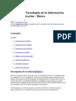 Subárea de Tecnologías de La Información y La Comunicación