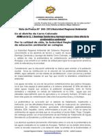NOTA DE PRENSA  040 - CAPACITACIÓN A I.E. J. DOMINGO ZAMÁCOLA DE CERRO COLORADO.docx