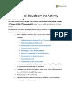 MVA Skill Development Activity