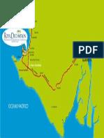 Mapa Hotel Punta Centinela