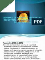 Normas de Higiene y Seguridad Industrial en Almacenamiento