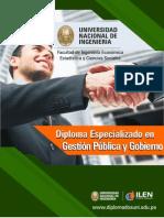 Diploma de Alta Direccion en Gestion Publica y Gobierno