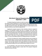 Mid Atlantic Regional Bargaining Report # 31