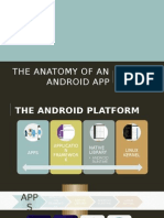 The Anatomy of an Android App