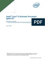 Specificatii CPU Intel