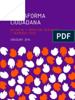 Plataforma Ciudadana en Salud y Derechos Sexuales y Reproductivos. Uruguay 2014