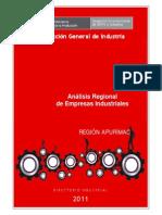 Analisis de La Industria de Apurimac