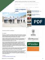 09-01-2015 Impulsa Pepe Elías Más y Mejores Servicios Para Reynosa