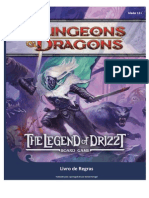 legend of drizzt rulebook pt-br