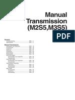 Hyundai HD78 Transmission M2S5, M3S5