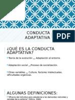 Conducta Adaptativa
