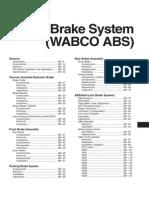 Hyundai HD78 Wabco ABS (Тормозная Система)