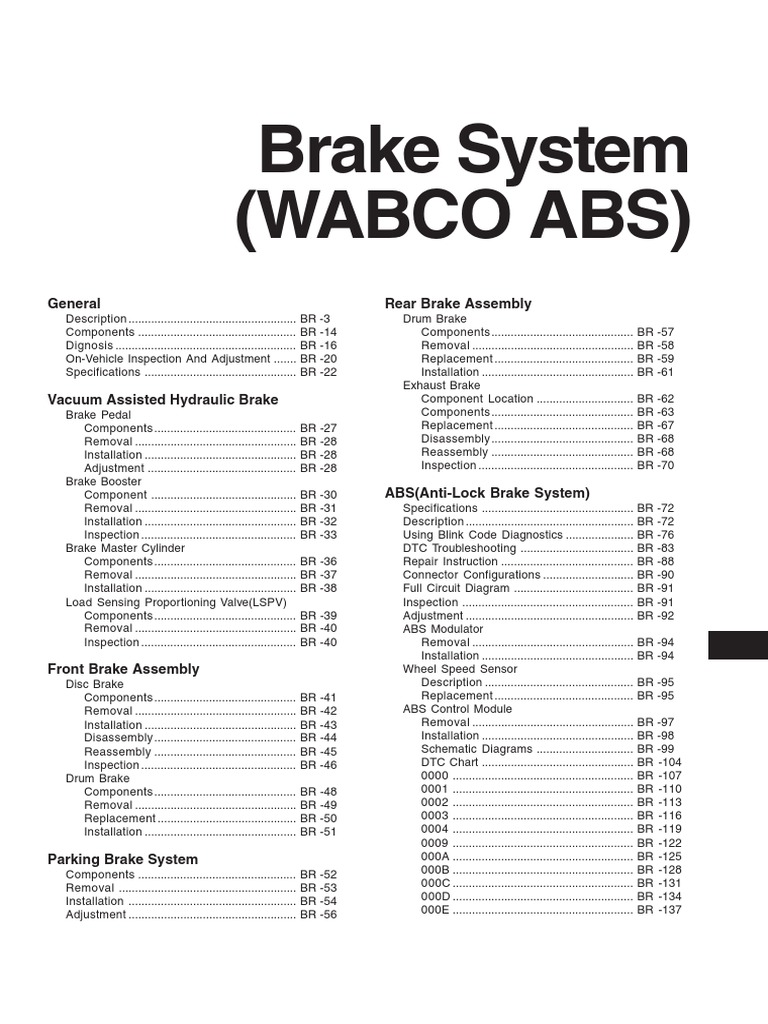 Abs Wheel Sensor Diagram | Best Wiring Liry on