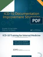 ICD-10 Documentation Improvement Strategies.