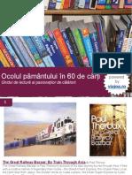 Ocolul pământului în 60 de cărţi