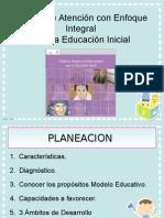 Plamodelo educacion inicialneacion Modelo Educacion Inicial 14-15