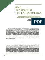 ZAFFARONI (Eugenio Raul). Criminalidad y Desarrollo en América Latina