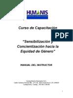 Manual Sensibilización y Concientizacion Hacia La Equidad e Género (Autoguardado)