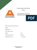 ATPS ANALISE DAS DEMONSTRAÇÕES FINANCEIRAS.doc