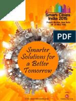 Smart Cities India 2015 Brochure