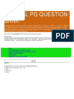 Pg Medical Question Bank