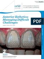 Anterior Esthetics- Managing Difficult Challenges