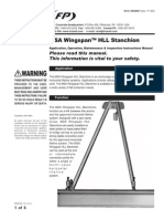 Wingspan HLL Stanchion Instruction Manual - En