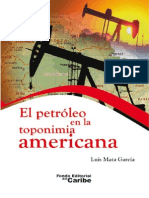 El Petroleo en la toponimia americana