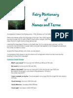 Fairy Dictionary