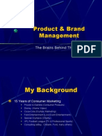 Brand Manage Men Ass Overview