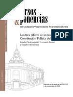 Los Tres Pilares de La Nueva Constitucion Politica Del Estado de Bolivia