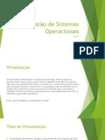 Introdução a Virtualização