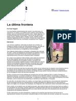 Paul Thagard - La Última Frontera (Página12)