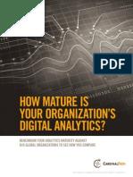 Benchmarking Analytics Maturity
