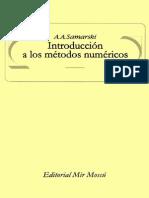 A.a. Samarski-Introducción a Los Métodos Numéricos-Editorial Mir (1986)[1]