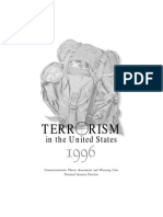 Terrorism in the US 1996