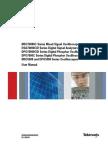 Tektronix DPO5000B Series User Manual - DPO5104B