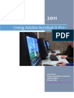 Using Adobe Acrobat X Pro
