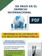 Formas de Pago en El Coemrcio Internacional