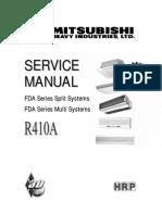Service Manual FDA Series Splits