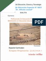 Curso de Quechua Ari