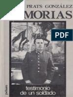 Carlos Prats Memorias de un soldado