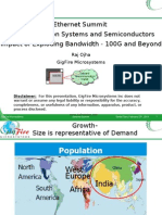Ethernet Summit Next Generation Systems and Semiconductors