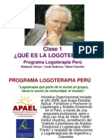 CLASE 1 - QUÉ ES LA LOGOTERAPIA - APAEL