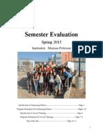 semester evaluation 4800
