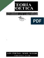 Bermudez Cañete Federico - Rilke - Teoria Poetica