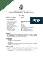 2014-2 Seminario de Tesis en Botanica Plan 2003 Prof. Cesar Cordova