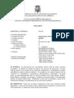 Sistematica Gral Plan 2003, Prof. v. Pacheco Sem 2014-2