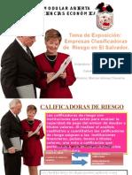 Calificadoras de Riesgo en El Salvador Expo