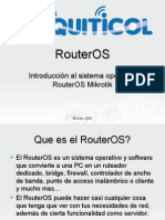 Routeros basics